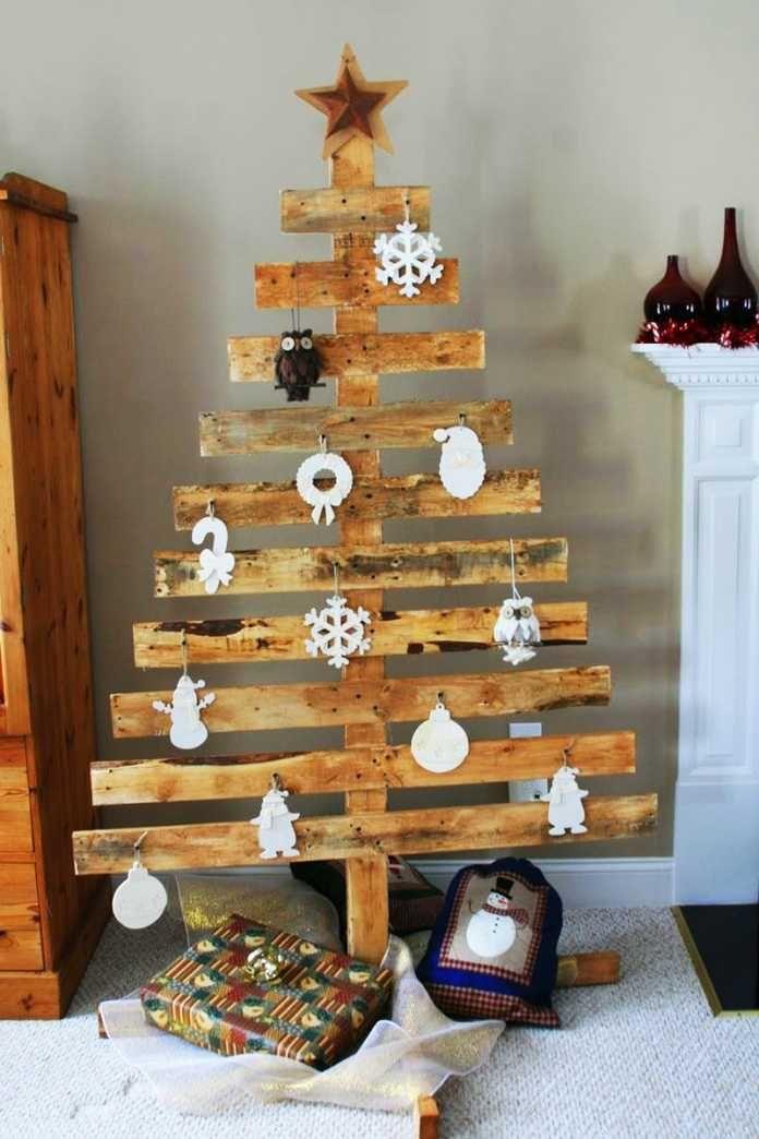 12 Alternativas Al Arbol De Navidad - Hacer-arboles-de-navidad