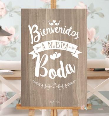 45 letreros para bodas creativas for Que poner en los banos de una boda