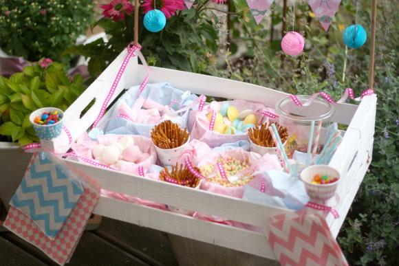Descubre m s ideas para utilizar tus cajas de frutas - Ideas para decorar mesas de chuches ...