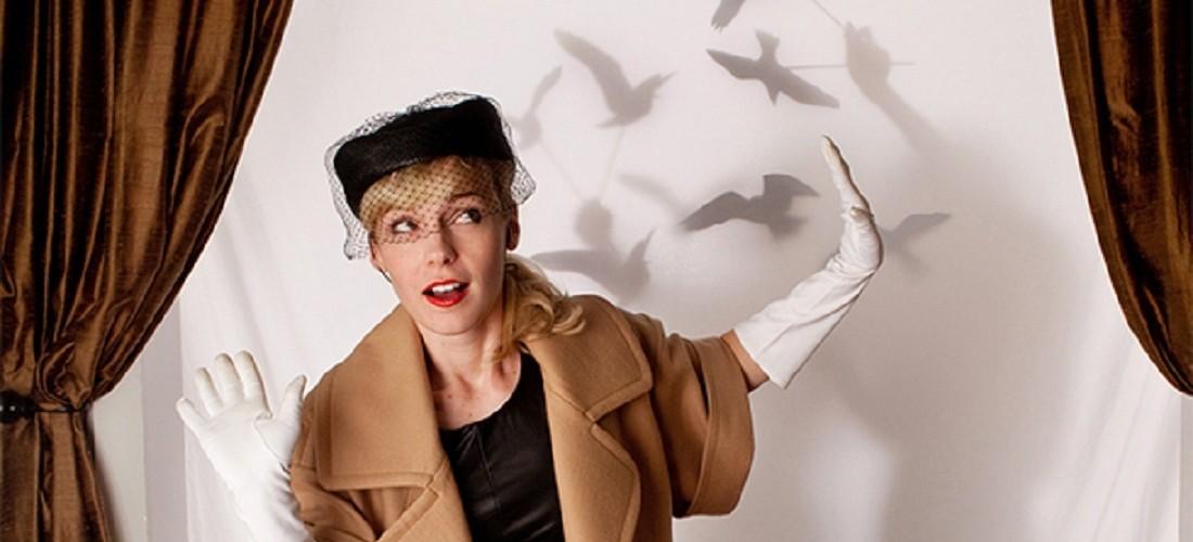 Sofisticada fiesta inspirada en Los Pájaros de Alfred Hitchcock