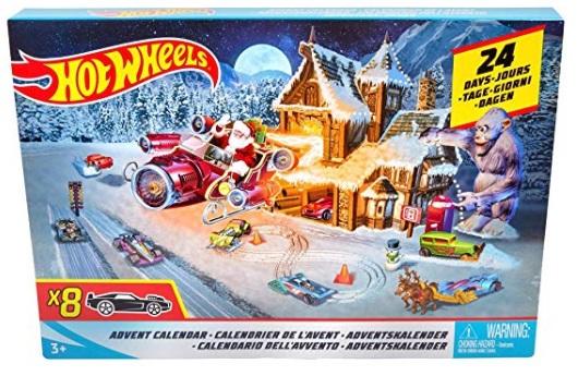 Calendario adviento Hotwheels