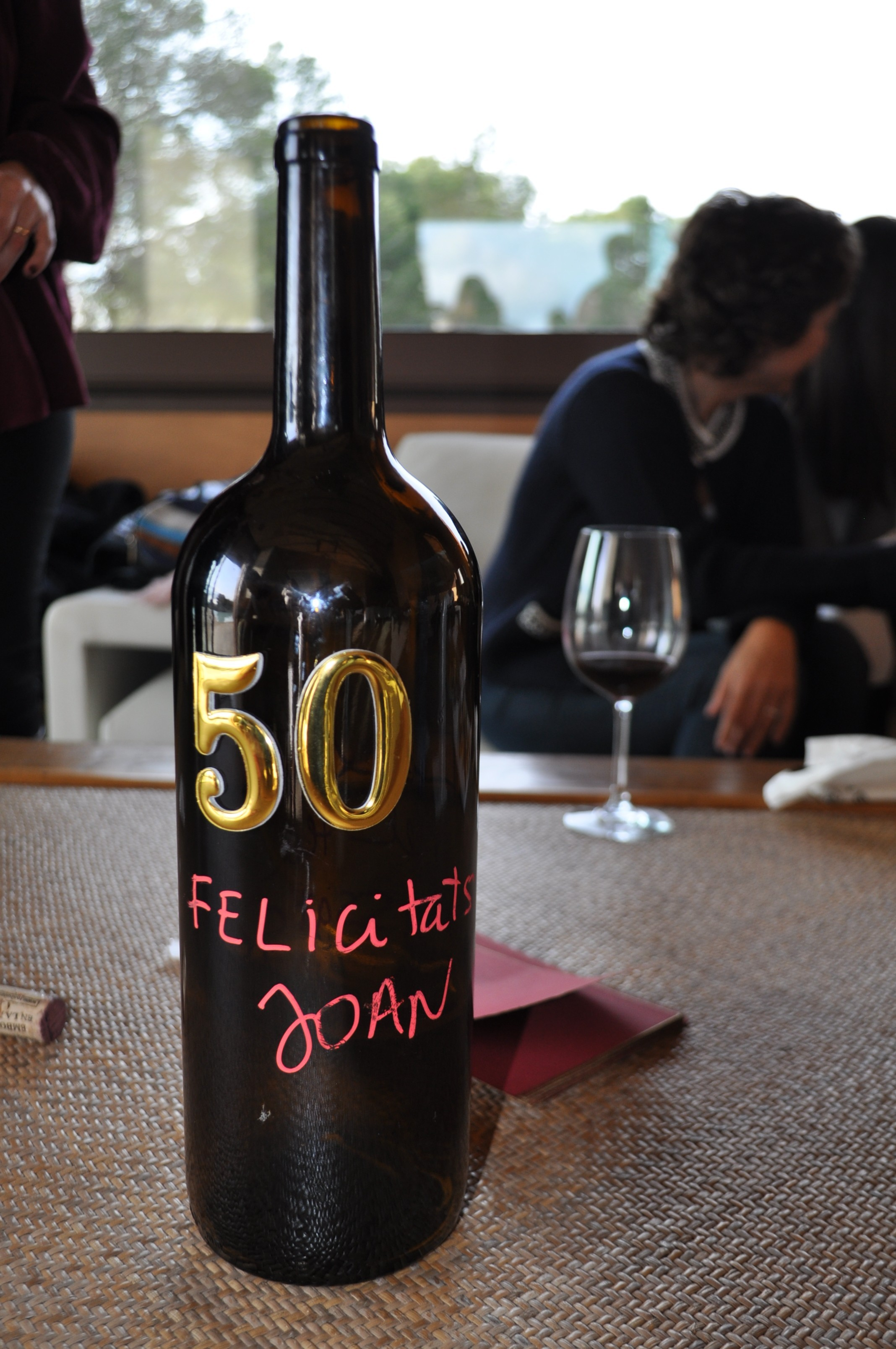 Fiesta 50 cumpleaños en las Bodegas Torres