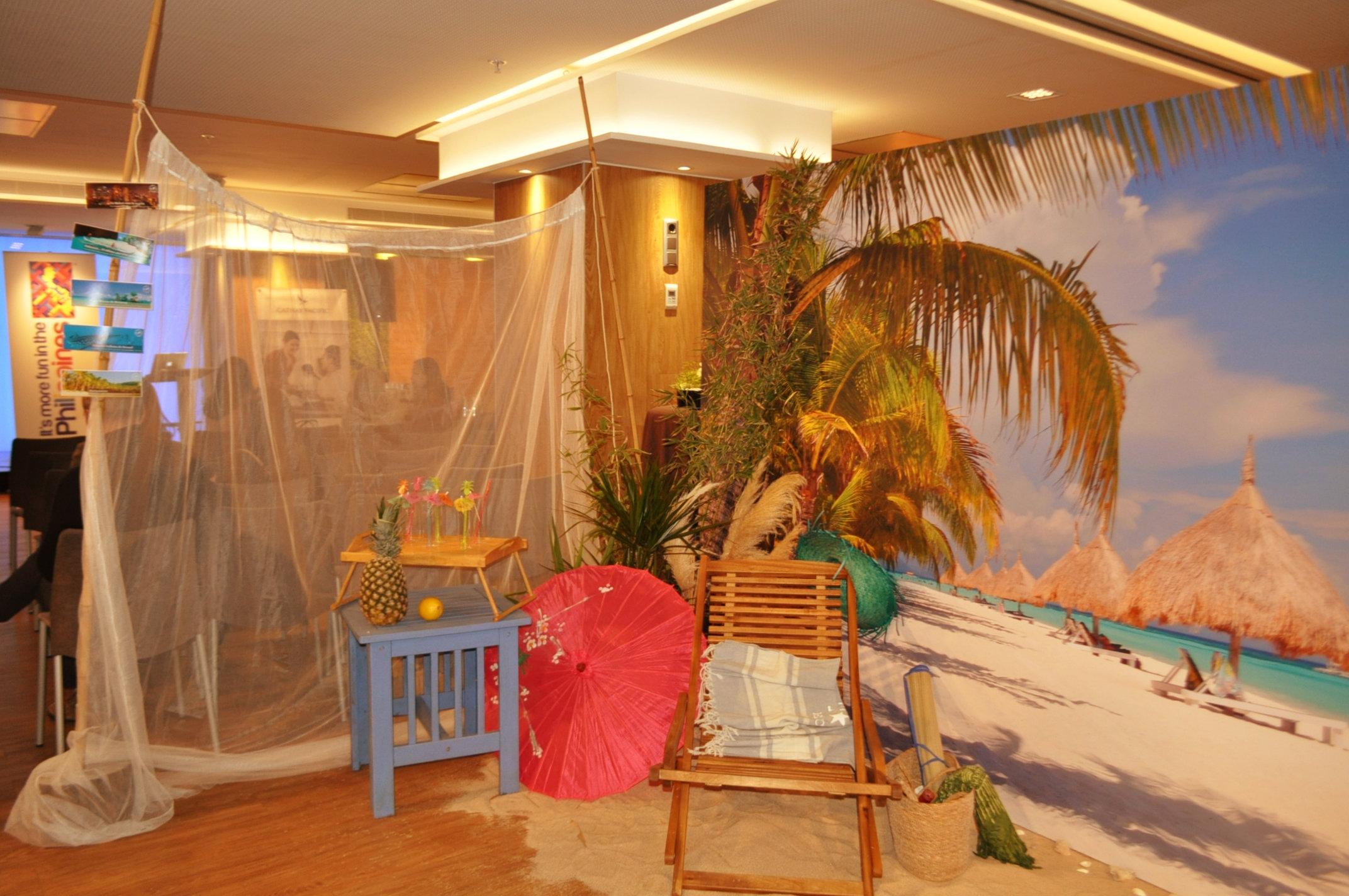 Beach Corner para la Oficina de turismo de Filipinas (2)