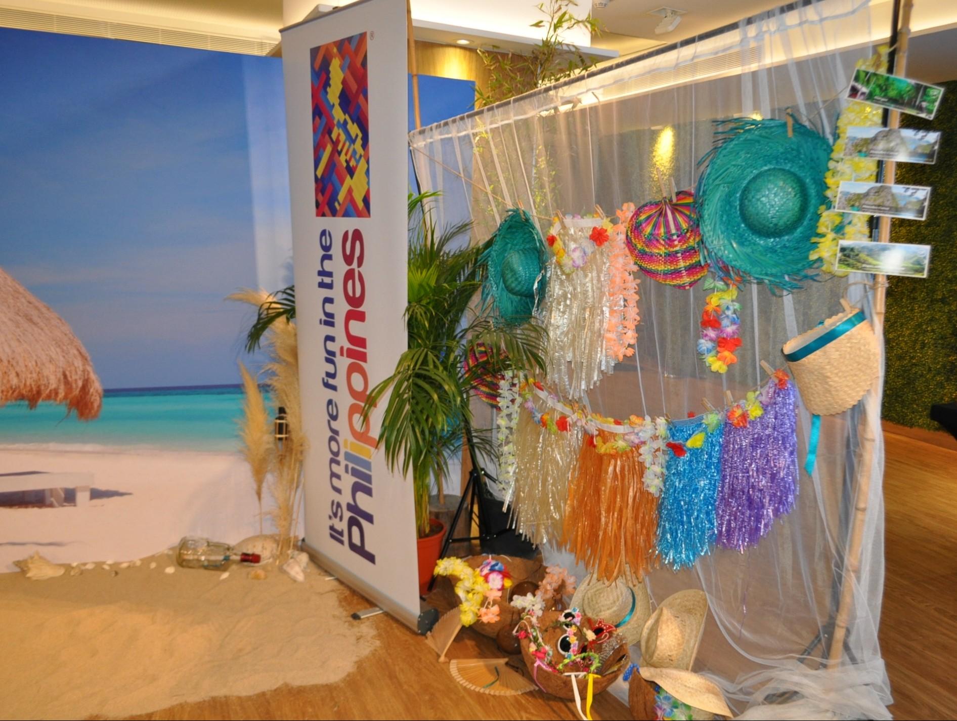 Beach Corner para la Oficina de turismo de Filipinas (3)