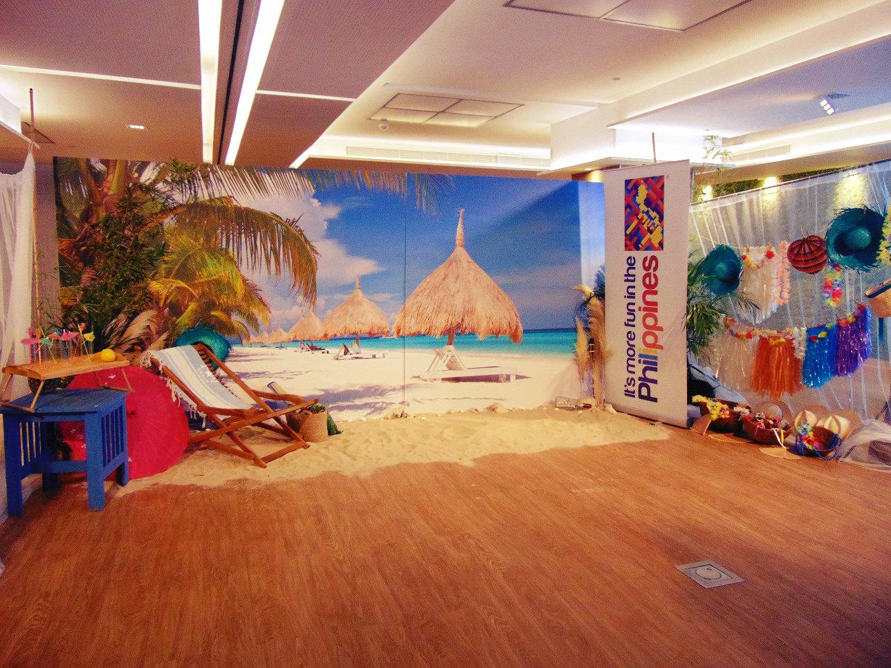 Beach Corner para la Oficina de turismo de Filipinas (5)