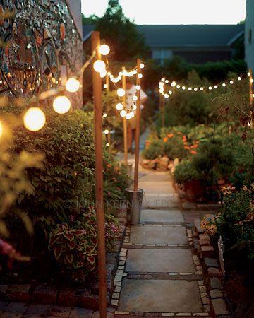 Fiesta en el jardín: ideas de decoración