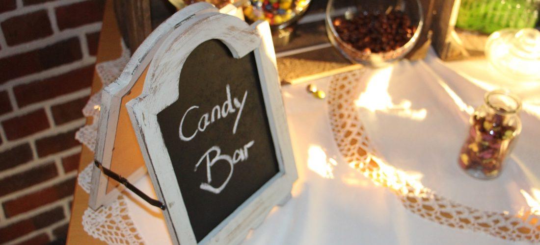 Consejos para un candy bar de lujo