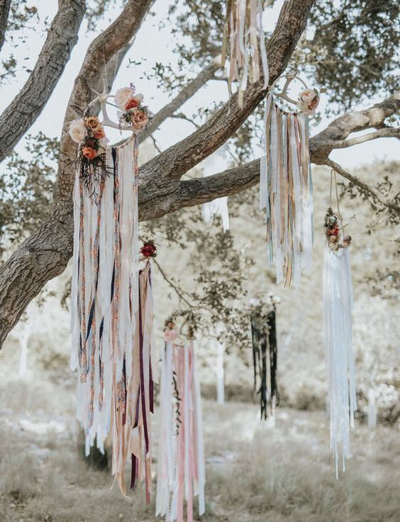 atrapasueños boda arboles