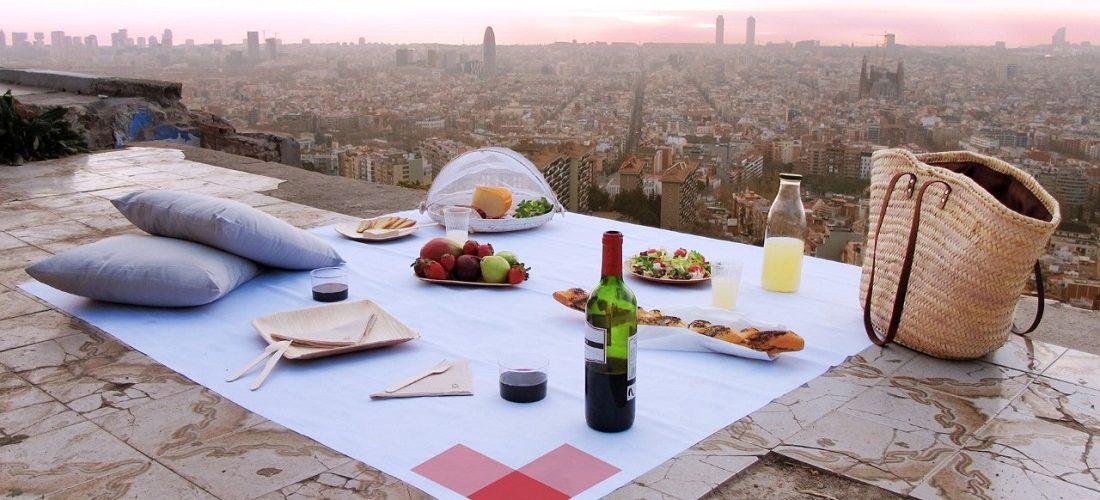 Degusta los parques de Barcelona con Picnic Barcelona