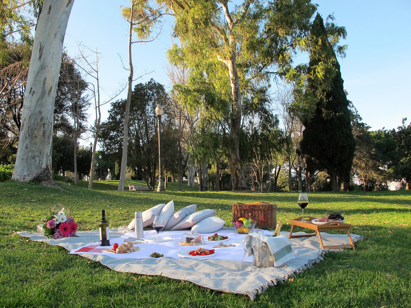 Degusta los parques de barcelona con picnic barcelona for Parques de barcelona