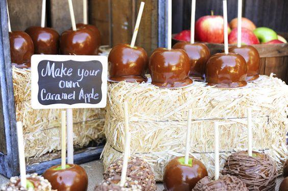 Piruletas de manzanas