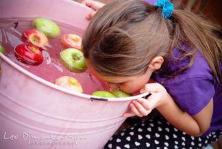 Buffet de manzanas