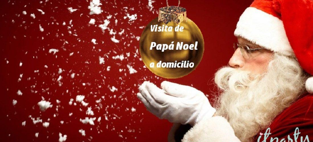 Visita de Papá Noel a domicilio – Fiestas infantiles