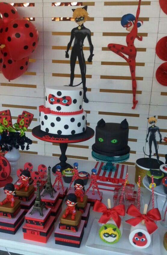 30 ideas para una fiesta tem tica inspirada en ladybug - Comidas para cumpleanos en casa ...