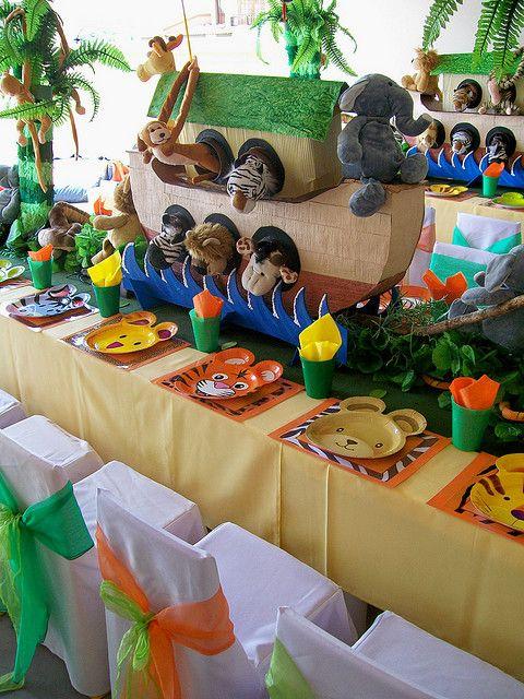 Fiesta Safari Para Niños Diversión En La Jungla