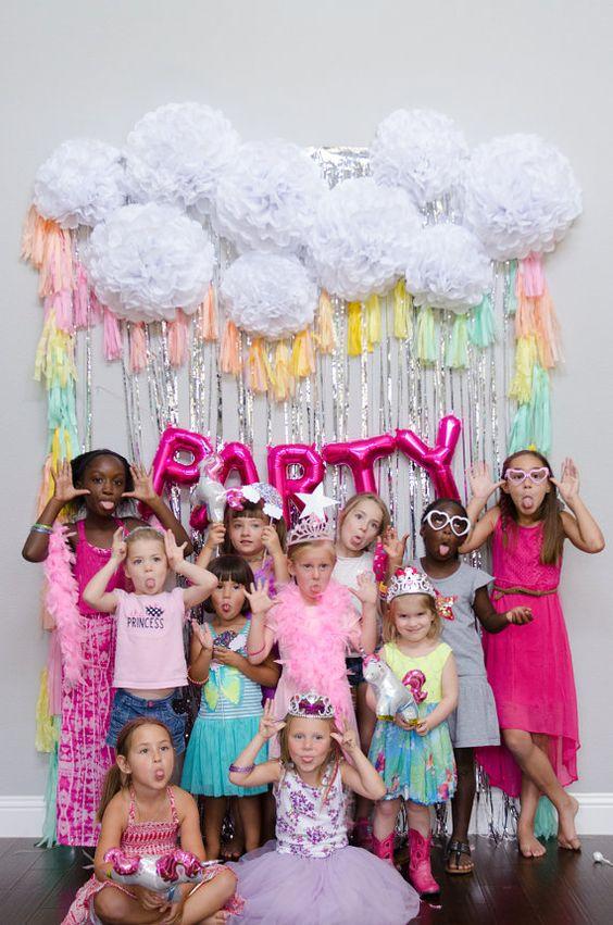 Cómo organizar un photocall para fiestas