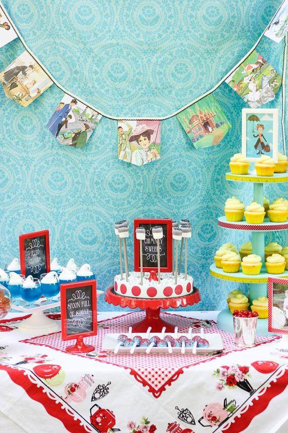 Las mejores ideas para hacer una fiesta inspirada en Mary Poppins