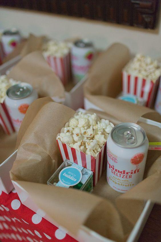 organizar una noche de cine