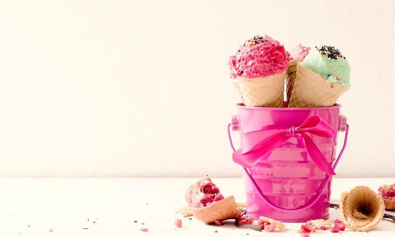 barra de helados