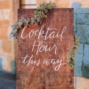 Cómo preparar un cóctel de bienvenida de boda