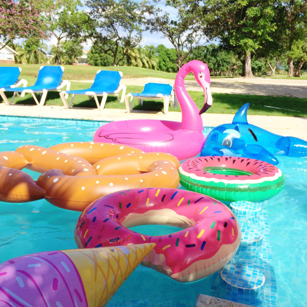 Cumpleaños en la piscina