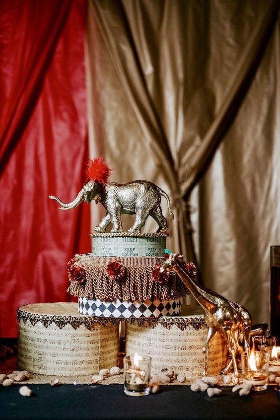 Una boda inspirada en el circo