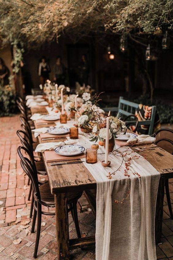 mesa bodas pequeñas